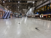Waterloo Station at 4am